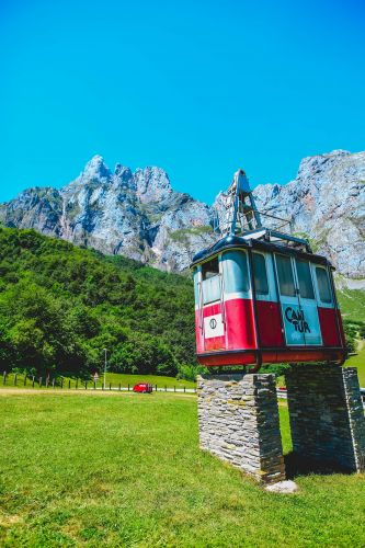 At the end of a long and winding road in the Picos De Europa lies Fuente Dé, an amazing rock amphitheatre.