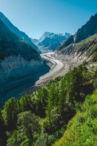 The Mer de Glace, the 'Sea of Ice', is looking less like its name suggests every year.